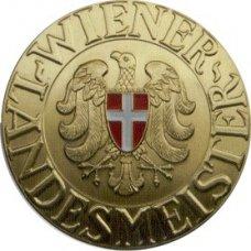 medaille - wiener landesmeister